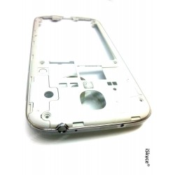 Für Samsung Galaxy S4 I9505 Chassis Central Silver Contour