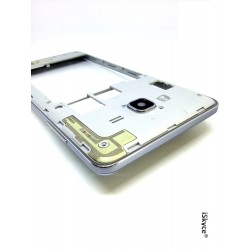 For Samsung Grand Prime SM-G530F Silver Central Chassis with Lens