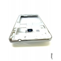 For Samsung Galaxy On7 G6000 Silver Central Contour Chassis with lens