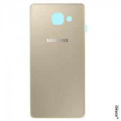 Glas Cache Gold Batterie für Samsung Galaxy A3 SM - A310F Version 2016