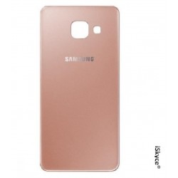 Glas Cache Gold Rose Batterie für Samsung Galaxy A3 SM-A310F Version 2016