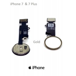 Gold Home Button For Apple iPhone 7 -7 Plus, Repair Your Phone