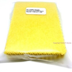 1 x 50 cloth wipe of yellow Microfiber for cleaning d camera lens LCD display for your
