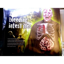 Disguise Monster costumes death living with from pump and blood - Article for adults iS