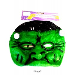 1/2 Green Monster face - made mask feeling with your friends with this 1/2 face mask has