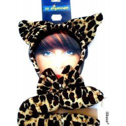 All Leopard ear n ud butterfly and tail section of entertainment for adult and articl