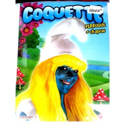 Costume Coquette Hat + wig make a splash with this disguise of Coquette Article