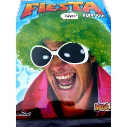 Wig green Fiesta - larger than life! It will be a nice effect on you! Article entertained