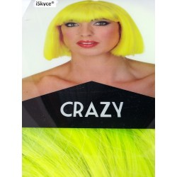 Wig Blonde Crazy neon - larger than life! It will be a nice effect on you! D article