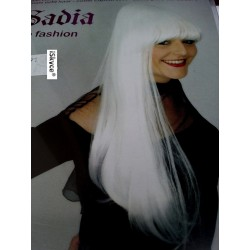 Wig Sadia white - larger than life! It will be a nice effect on you! Article from dive