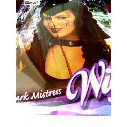 Wig Dark Mistress - larger than life! It will be a nice effect on you! Article from diver