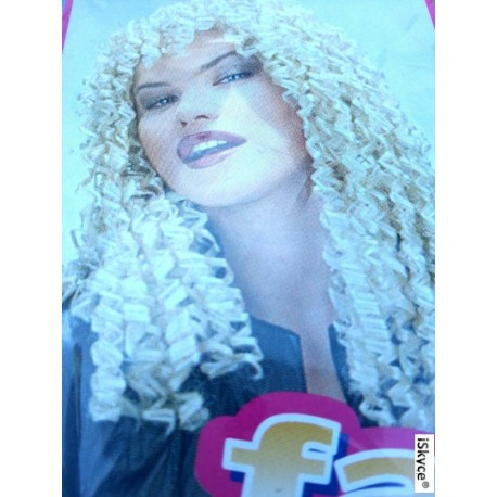 Wig Blonde - real thing Brigitte! It will be a nice effect on you! Di article