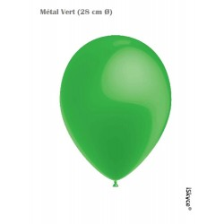 50 balloons Balloonia Metal green (28 cm O) prepare without too much difficulty evenings festive ave