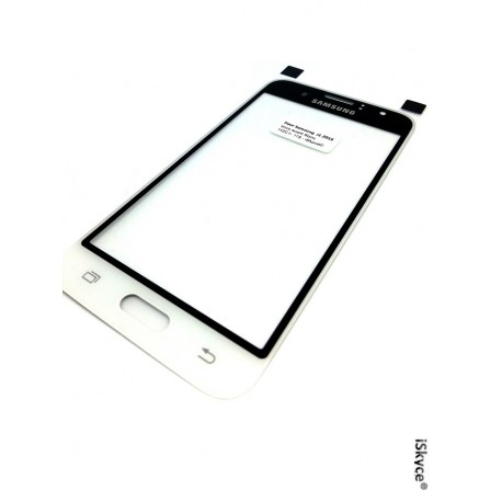 Glass lens in glass façade Oem of high quality for your samsung J 1 (2016) J120 white