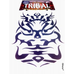 1 tattoo temporary face made in U.S.A. tattoos, make a splash with this tattoo vraimen