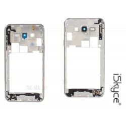 For Samsung J7 SM - J700F Chassis contour central platform with lens camera rear