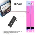 + 136C. Adhesive 2 bands tab waist adjustment battery for Apple iPhone 6 S