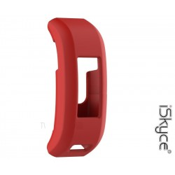 For Garmin Vivosmart Hr RED waterproof soft silicone protective case - iSkyce 245A