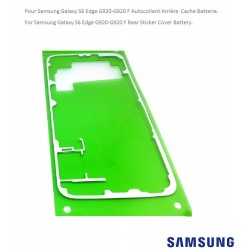 For Samsung S6 G920-G920F Adhesive seal rear battery cache