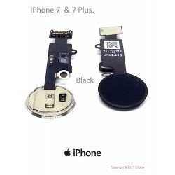 Button Home black for iPhone 7-7 more, repair your phone without too much difficulty :-), iSkyce