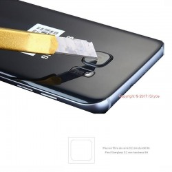 For Samsung Galaxy A9 plexi protection back Camera photo
