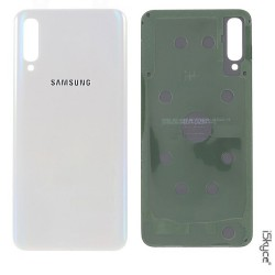 Rear White Battery Hide for Samsung Galaxy A50 SM-A505